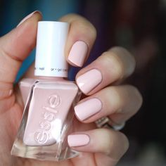 Slip on this misty rose pink, and dance your way to greatness with eternal chic.  Introducing 'lace me up' from the NEW essie gel couture ballet nudes collection. Shop this pretty polish for a luxurious long-wear mani here: http://www.essie.com/gel-couture/colors/Neutrals/lace-me-up.aspx