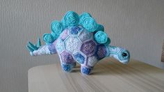 Ravelry: Project Gallery for Puff the Magic Stegosaurus pattern by Heidi Bears