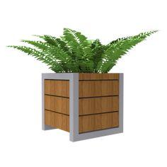 De FalcoTabula is stijlvolle stalen plantenbak afgewerkt met FSC® gecertificeerd hardhouten delen. Plants, Plant, Planets
