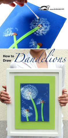 How to draw Dandelions