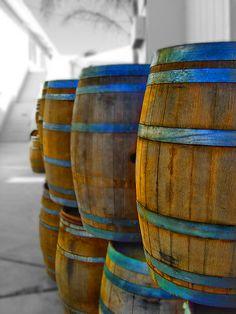wine barrels, Wilson Creek Winery, Temecula Valley, CA | Herman Layos