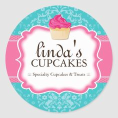 Dessert Packaging, Bakery Packaging, Create Your Own, Create Yourself, Bakery Logo Design, Packaging Stickers, Food Drawing, Different Shapes, Sticker Design