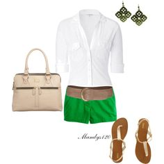 Spring Green, created by mandys120 on Polyvore
