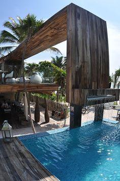 Argentinian architect Sebastian Sas designed the Be Tulum resort in Mexico...