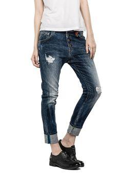 Jeans Woman Boyfit - PILAR 573 536 - Replay