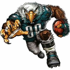 The players need the roar of the fans and nobody pumps up the crowd like your favorite team mascot! The Fathead NFL Team Mascot Wall Decal is an awesome. Eagles Jersey, Eagles Nfl, Nfl Dallas Cowboys, Pittsburgh Steelers, Football Art, Football Memes, Broncos Memes, Football Season, Pumas