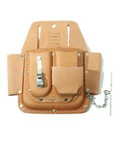 bpr BEAMS / HERITAGE LEATHER × BEAMS / Leather 6 pocket - nice looking wet formed tool belt pockets