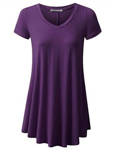 $15.74 URBANCLEO Womens Basic eLong Tunic Top Mini T-shirt Dress.Color: Purple Plum.Tunic Top Perfect for Casual,Normal,Everyday,Party.This is a beautiful,cute and amazing top available at very cheap prices.Will be available in various colors and sizes.This can be worn during winters.fall,summer,spring.URBANCLEO Womens Basic eLong Tunic Top Mini T-shirt Dress (PLUS Size Available) at Amazon Women's Clothing store: