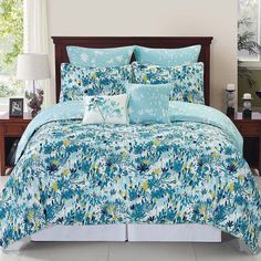 Devon Comforter Set, Blue