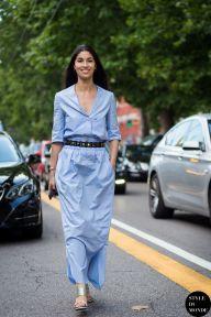 STYLE DU MONDE / Milan Men's SS16 Street Style: Caroline Issa  // #Fashion, #FashionBlog, #FashionBlogger, #Ootd, #OutfitOfTheDay, #StreetStyle, #Style