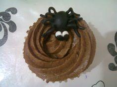 Cupcakes De Melocotón Para Halloween