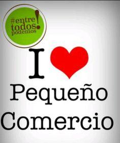 Apoyamos al pequeño comercio, al de proximidad, a la tienda de barrio... http://blog.micomerciolocal.com