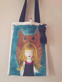 Check out this item in my Etsy shop https://www.etsy.com/listing/232787649/handmadehand-sewnhand-painted-tote-bag