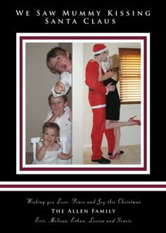 cute family christmas card. :)