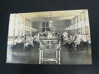 Real Photo RP Postcard - Bighi Naval Hospital Ward - Royal Navy - Malta