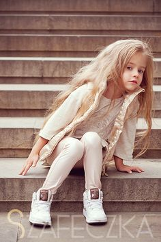 Baby model with my type of hair.
