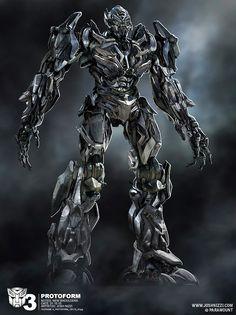 Concept Art : Transformers: Dark of the Moon #scifi - Stylendesigns.com!