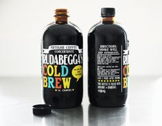 Peanut Butter Cup Cold Brew coffee concentrate from Rudabegga's
