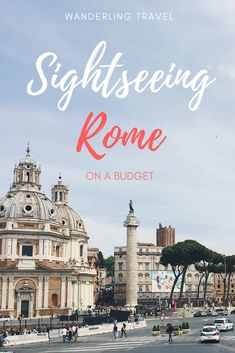 Discover what you can do in Rome on a budget. All of the famous sights of Rome, travel tips, navigating the city, etc. Click through for more information!