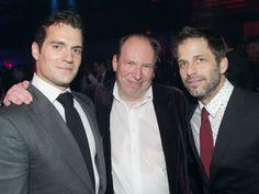 Henry Cavill, Hans Zimmer, Zack Snyder