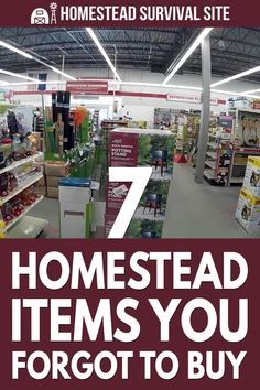 This post is a checklist of homestead items you might have overlooked, but they're good to have when you need them. Homestead Living, Farms Living, Homestead Survival, Survival Tips, Pipe Repair, Severe Storms, Sustainable Farming, Emergency Supplies, Living Off The Land