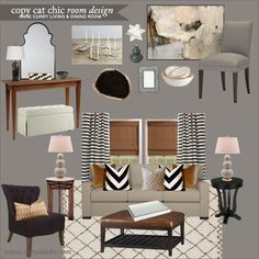 Copy Cat Chic Clients: Anne Curry Dining Room 112512
