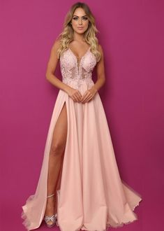 May this pin was discovered by melissa olshove. Prom Dresses With Pockets, Grad Dresses, Dance Dresses, Dress Outfits, Evening Dresses, Bridesmaid Dresses, Wedding Dresses, Elegant Dresses, Pretty Dresses