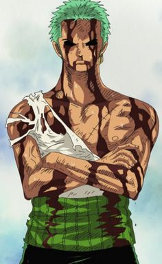 I gained a lot of respect for Zoro on this scene. He truly is a loyal crew mate.