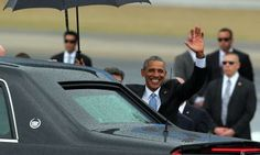Obama, a su llegada a La Habana.