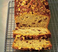 A tea-time treat - packed with sweet honey. A great way to use up those ripe bananas too