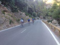 descending down from Estellencs