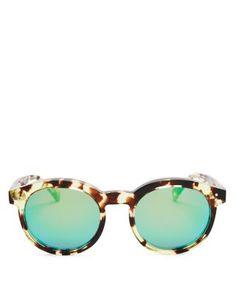 WILDFOX Steff Deluxe Mirror Sunglasses, 50mm | Bloomingdales's