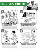 Simple activities for K-5 students to learn about copyright.   jointhecteam.com