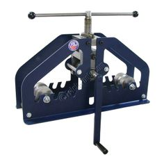 Pro-Tools Manual Roll Bender for tube, pipe and square up to 2 inch. Great for large radius bending.