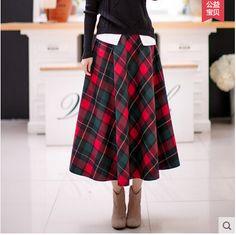 Юбка-женщины-осень-и-зима-женское-литературный-ретро-шотландка-шерсть-юбка-A-слово-женщины-юбки-утолщение.jpg (421×420)