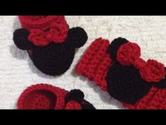How To Crochet an Adorable Minnie Mouse Headband - DIY Style Tutorial - Guidecentral - YouTube