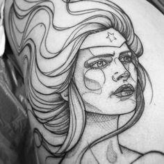 tattoo by Anki Michler
