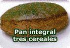 Pan integral 3 cereales. Recetas veganas de Vegetarianismo.net