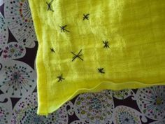 add a little of your touch to plain pillow case covers