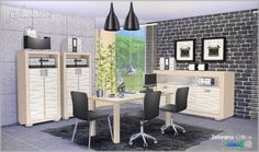 Zebrano Office at SIMcredible! Designs 4