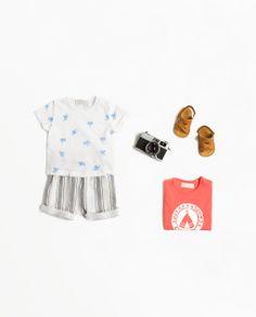 ZARA   Tees + Shorts