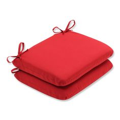 Pillow Perfect Outdoor Solid Round Seat Cushion