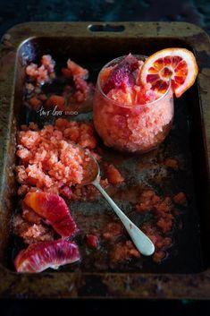 Blood Orange Granita