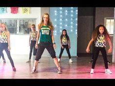 Five more hours - Deorro & Chris Brown - EASY kids dance fitness choreog...