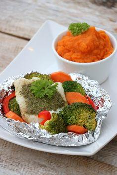 Sunn matglede Cottage Cheese, I Love Food, Palak Paneer, Pesto, Nom Nom, Food And Drink, Yummy Food, Fish, Cooking
