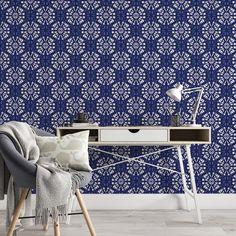Blue Wallpaper - Swatch / 4 x 6 Swatch
