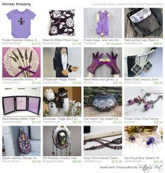 """My Embroidered Reindeer Onesie was featured in """"Monday Shopping"""" by Ischa Lawrence from Ischas Treasure Chest  https://www.etsy.com/treasury/NTI5NzY0Mjh8MjcyODYxMzY2Mg/monday-shopping  https://www.etsy.com/listing/88563531/purple-reindeer-onesie-embroidered  #onesie #reindeer #pillow #mask #snowman #gloves #wizard"""
