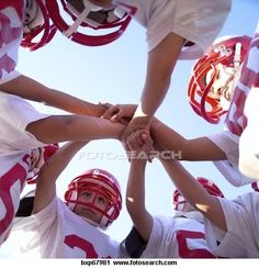 Stock Photography of Football Team Huddle bxp67981 - Search Stock Photos, Pictures, Prints, Images, and Photo Clip Art - bxp67981.jpg