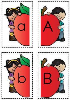 13 Bladsye Pas die hoofletter by die kleinletter. Worksheets For Kids, Comic Books, Comics, Printables, Kids Worksheets, Print Templates, Cartoons, Cartoons, Comic