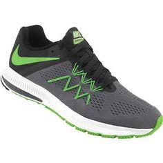 the best attitude 47627 9032d Nike Zoom Winflo 3 Running Shoes - Mens Racer Blue Black White Mens  Running, Running